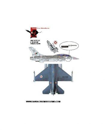 "F-16 B ""Red Flag"""
