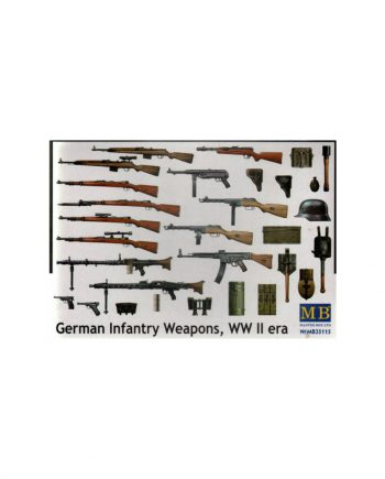 German Infantry Weapons WW II era