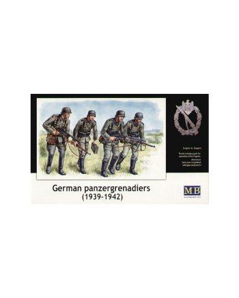 4 German (WWII) Panzergrenadiers 1942 - 1945