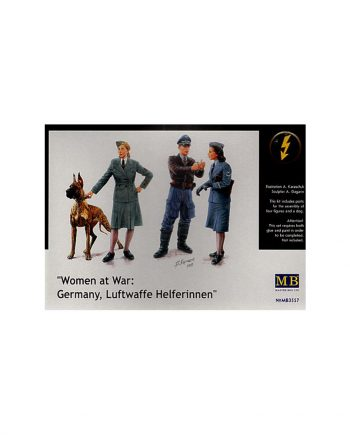 Women at War Germany, Luftwaffe Helferinnen